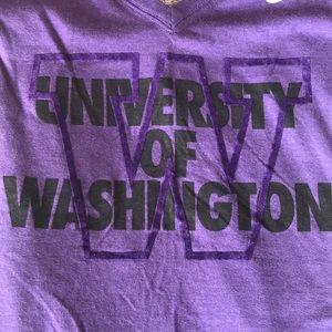 University of Washington Purple Nike T-shirt
